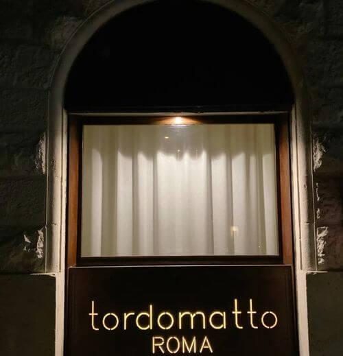 義大利羅馬Rome (Roma)梵蒂岡Vatican City (義語 Stato della Città del Vaticano)必吃 -Tordomatto