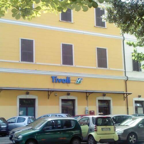 義大利Stazione Tivoli 蒂沃利火車站