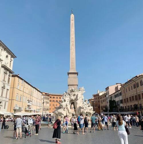 義大利羅馬Rome (Roma)必玩 - Piazza Navona 納沃納廣場