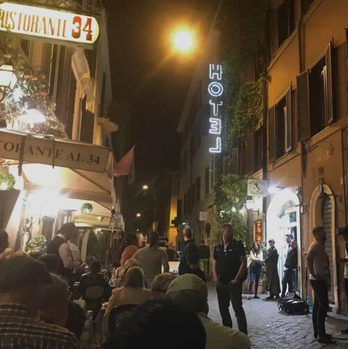 """義大利羅馬Rome (Roma)必吃 -Ristorante """"Al 34"""""""