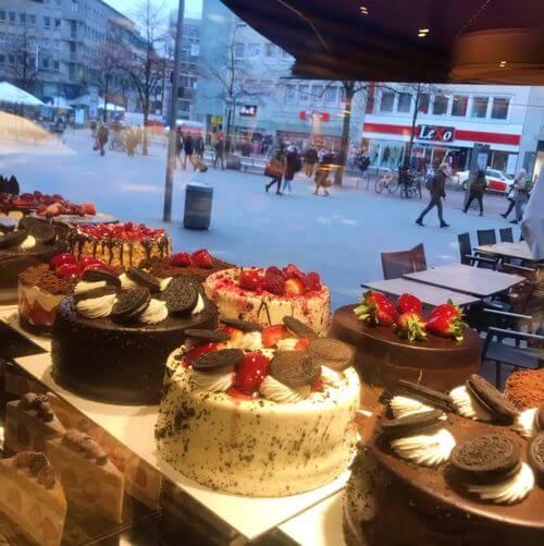 德國漢諾威Hannover必吃-Focaccia Patisserie & Café