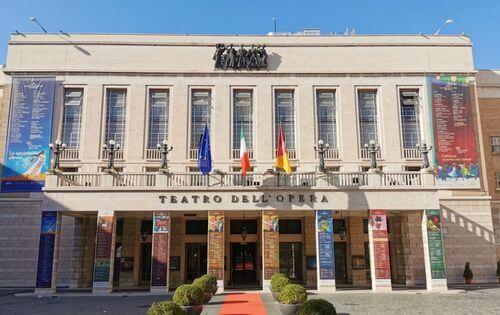 義大利羅馬Rome (Roma)必玩 - Teatro dell'Opera 羅馬歌劇院