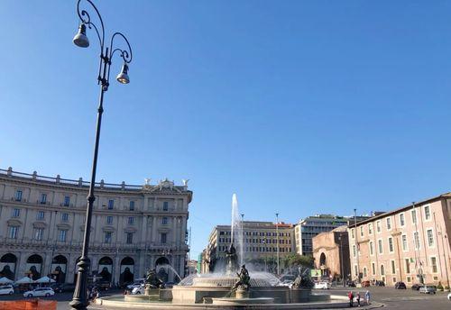 義大利羅馬Rome (Roma)必玩 - Piazza della Repubblica 共和廣場