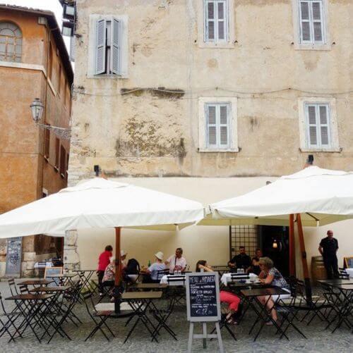 義大利蒂沃利Tivoli必吃 -Café Ristorante Villa d'Este
