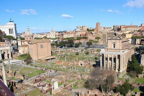 義大利羅馬Rome (Roma)必玩 -Foro Romano 古羅馬廣場 (英 Roman Forum)