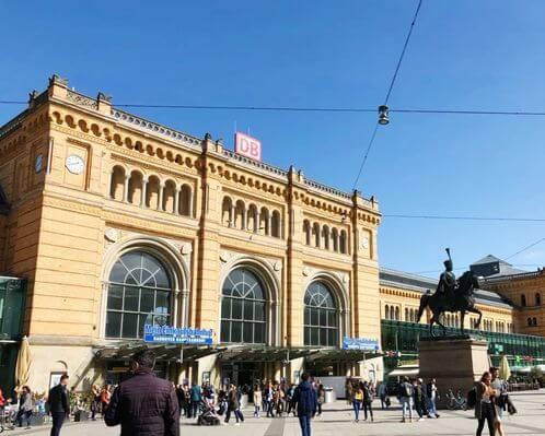 漢諾威火車總站 Hannover HBF (Hannover Hauptbahnhof)