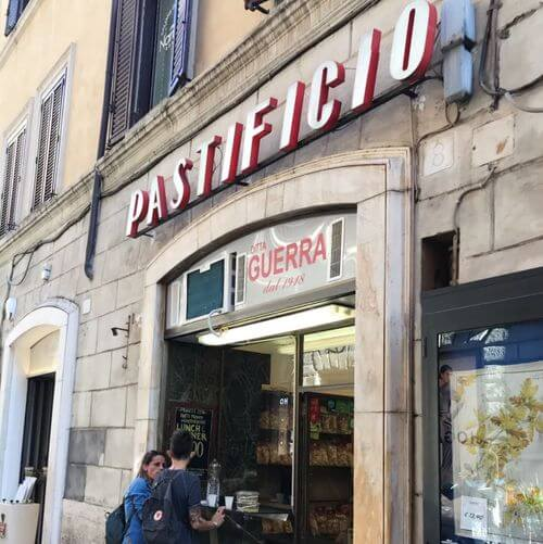 義大利羅馬Rome (Roma)必吃 -Pastificio Guerra