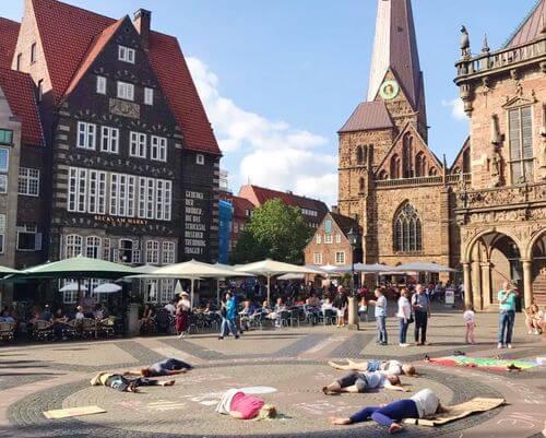 德國不來梅=不萊梅Bremen必玩-Bremer Rathaus 不來梅市政廳