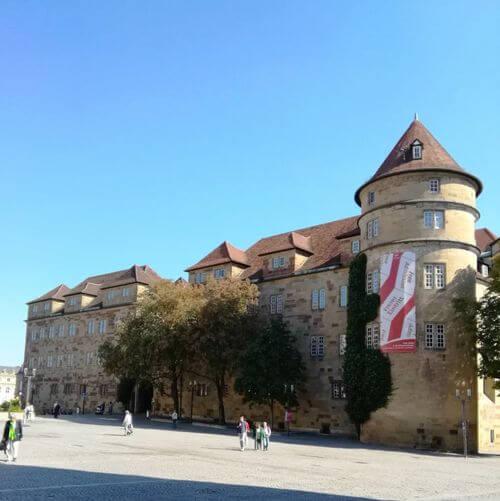 德國司徒加特=斯圖加特Stuttgart必玩-Altes Schloß 老王宮 = 符騰堡州立博物館