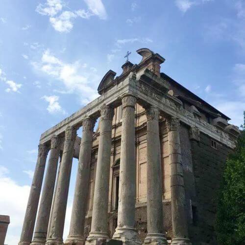義大利羅馬Rome (Roma)必玩 -火神廟Aedes Vestae