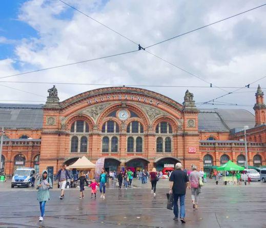 德國不來梅火車總站 Bremen HBF (Bremen Hauptbahnhof)
