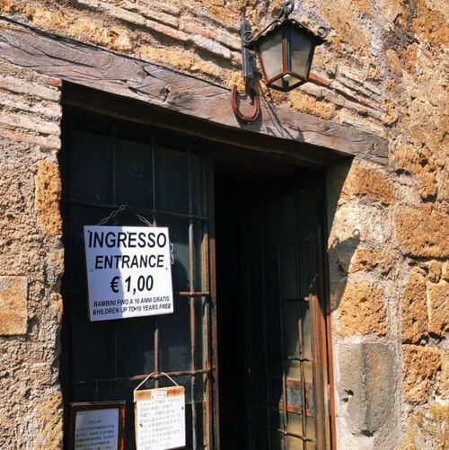 義大利白露里治奧 CIVITA DI BAGNOREGIO必玩 -Museo Geologico e delle Frane 地質博物館