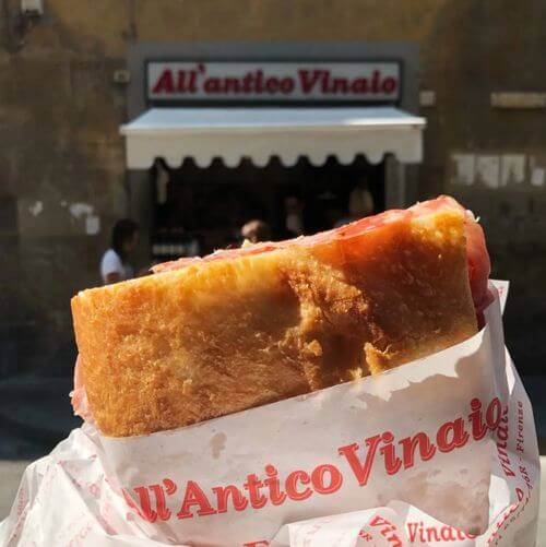 義大利佛羅倫斯 Florence 必吃 - Osteria All'antico Vinaio