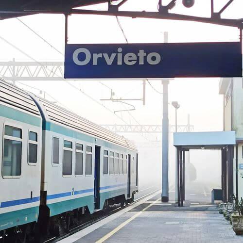 義大利Stazione Orvieto 奧爾維耶托火車站