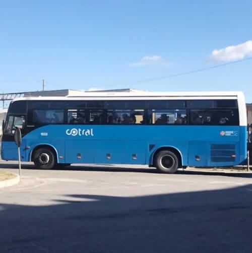 天空之城 白露里治奧 交通 Cotral Bus (Orvieto-Bagnoregio)