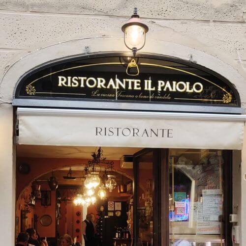 義大利佛羅倫斯 Florence 必吃 - Ristorante il Paiolo