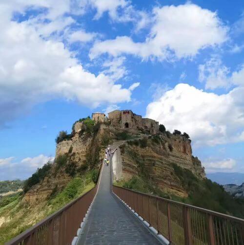 義大利白露里治奧 CIVITA DI BAGNOREGIO必玩 - 天空之城