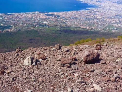 義大利維蘇威火山 Vesuvio 必玩 - 那不勒斯灣 = 拿坡里灣