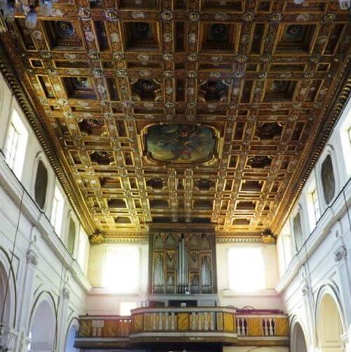 義大利普羅奇達島 Isola di Procida 必玩 - Abbazia San Michele Arcangelo 聖米歇爾·阿坎蓋洛教堂