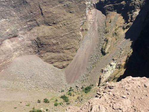 義大利維蘇威火山 Vesuvio 必玩 - 火山口