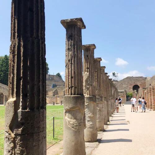 義大利龐貝 = 蓬佩伊 Pompeii 必玩 - Regio VII 5 Sanctuary of Apollo (義 Santuario di Apollo)