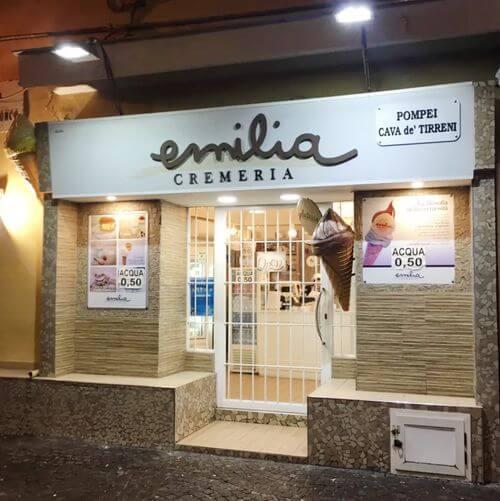 義大利龐貝 = 蓬佩伊 Pompeii 必吃 - Emilia Cremeria
