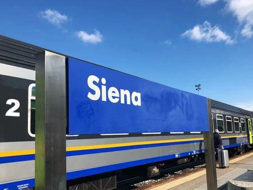 義大利Stazione di Siena 西恩納火車站