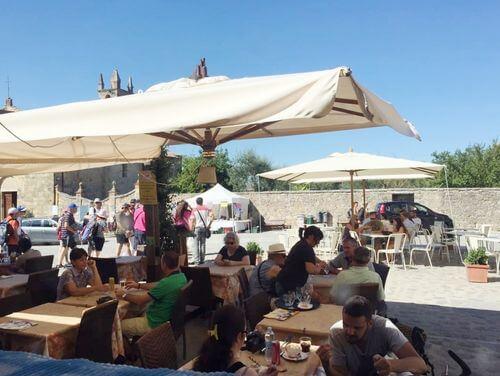 義大利蒙特里久尼 = 蒙特里焦尼 Monteriggioni必吃 -Osteria Antico Travaglio