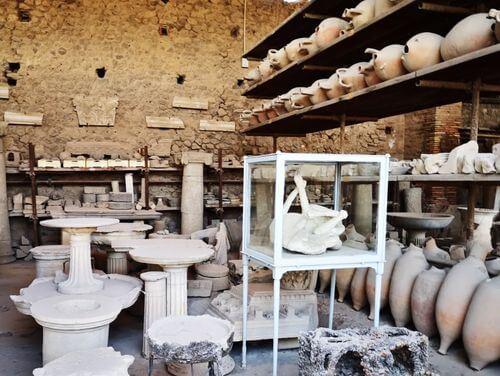 義大利龐貝 = 蓬佩伊 Pompeii 必玩 - Regio VII 7 Forum Granary (義 Granai del Foro)