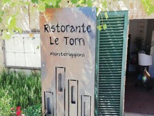 義大利蒙特里久尼 = 蒙特里焦尼 Monteriggioni必吃 -Ristorante le torri