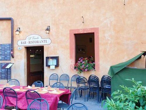 義大利蒙特里久尼 = 蒙特里焦尼 Monteriggioni必吃 -Ristorante Pizzeria Il Feudo