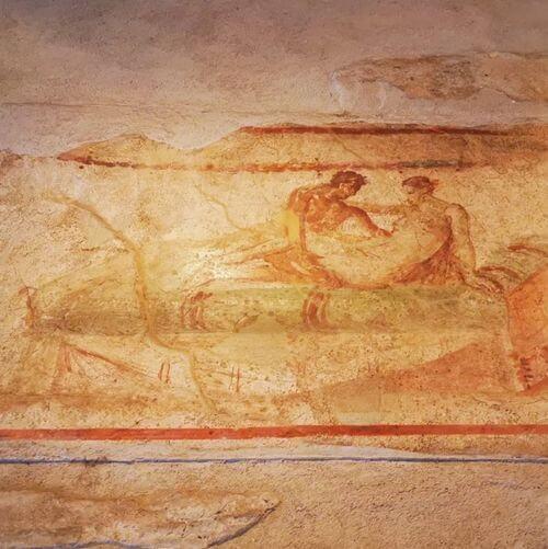 義大利龐貝 = 蓬佩伊 Pompeii 必玩 - Regio VII 18 Lupanar (義 Lupanare)
