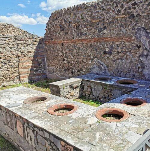 義大利龐貝 = 蓬佩伊 Pompeii 必玩 - Regio VII 20 Bakery of Popidio Prisco (義 Panificio di Popidio Prisco)