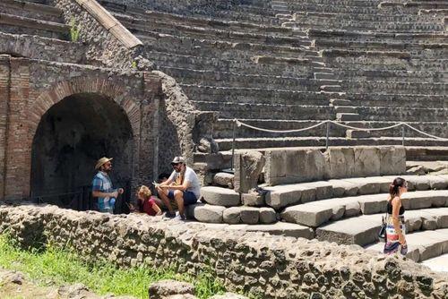 義大利龐貝 = 蓬佩伊 Pompeii 必玩 - Regio VIII 10 Large Theatre (義 Teatro Grande)