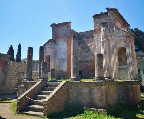義大利龐貝 = 蓬佩伊 Pompeii 必玩 - Regio VIII 14 Temple of Isis (義 Tempio di Iside)