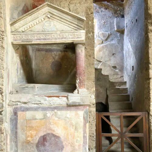 義大利龐貝 = 蓬佩伊 Pompeii 必玩 - Regio I 7 House of the Menander (義 Casa del Menandro)