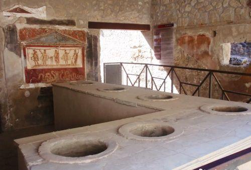 義大利龐貝 = 蓬佩伊 Pompeii 必玩 - Regio I 12 House and Thermopolium of Vetutius Placidus (義 Casa e Thermopolium di Vetutius Placidus)