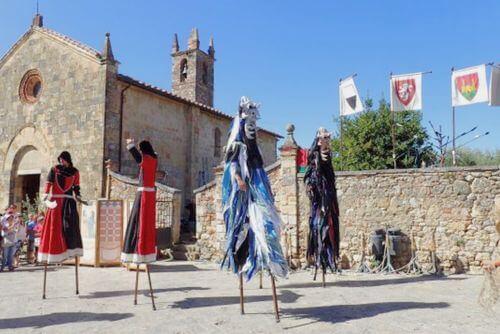 義大利蒙特里久尼 = 蒙特里焦尼 Monteriggioni必玩 -Medieval Festival Monteriggioni 蒙特里久尼中世紀嘉年華