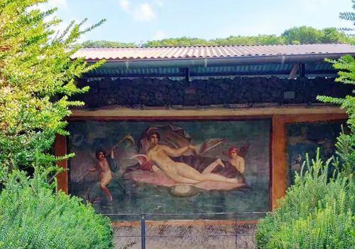 義大利龐貝 = 蓬佩伊 Pompeii 必玩 - Regio II 2 House of Venus in the shell (義 Casa della Venere in conchiglia)