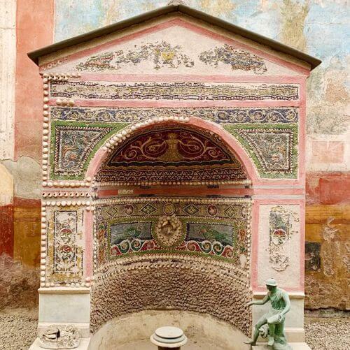 義大利龐貝 = 蓬佩伊 Pompeii 必玩 - Regio VI 3 House of the Small Fountain (義 Casa Fontana Piccola)