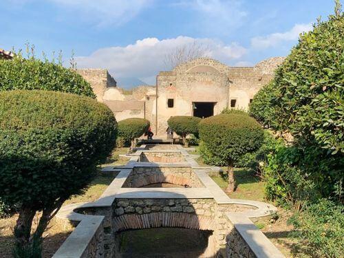 義大利龐貝 = 蓬佩伊 Pompeii 必玩 - Regio II 3 Praedia of Giulia Felice (義 Praedia di Giulia Felice)