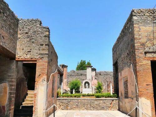 義大利龐貝 = 蓬佩伊 Pompeii 必玩 - Regio IX 1 House of Marcus Lucretius in via Stabiana (義 Casa di Marco Lucrezio su via Stabiana)