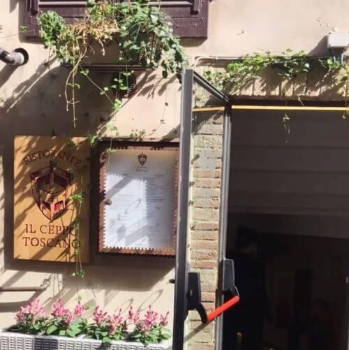義大利聖吉米尼亞諾 San Gimignano必吃 -Il Ceppo Toscano