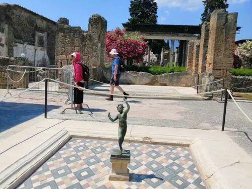 義大利龐貝 = 蓬佩伊 Pompeii 必玩 - Regio VI 1 House of the Faun (義 Casa del Fauno)