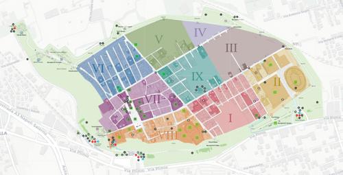 義大利龐貝 = 蓬佩伊 Pompeii 必玩 - 龐貝古城地圖