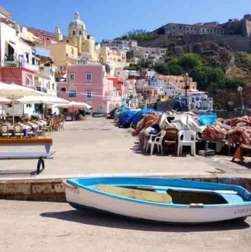 義大利普羅奇達島 Isola di Procida 必玩 - Marina di Corricella 克里塞拉小漁村