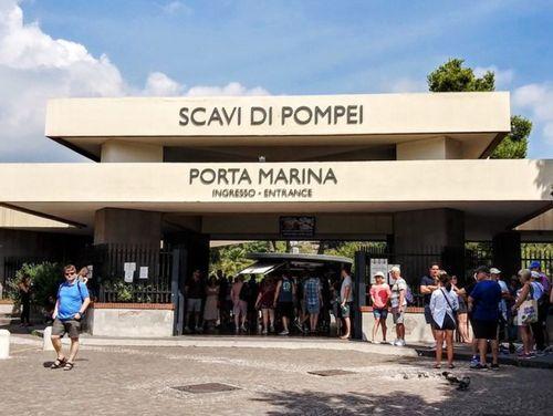 義大利龐貝 = 蓬佩伊 Pompeii 必玩 - 入口 Porta Marina