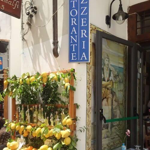 義大利阿瑪菲 Amalfi 必吃 - Taverna di Masaniello