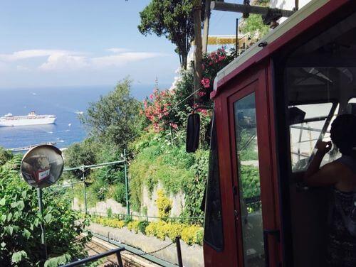 義大利卡布里島 ISOLA DI CAPRI 必玩 - SIPPIC Funicolare 登山纜車