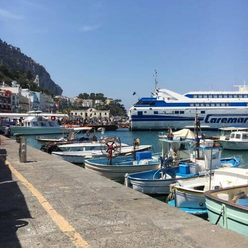 義大利卡布里島 ISOLA DI CAPRI 必吃 - Ristorante Lo Zodiaco